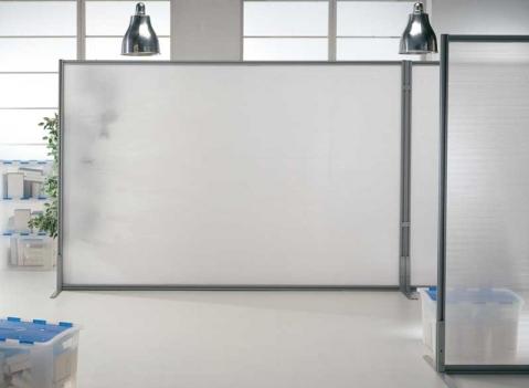 Linea macro pannelli espositivi vetrine espositve for Pannelli divisori per ufficio prezzi
