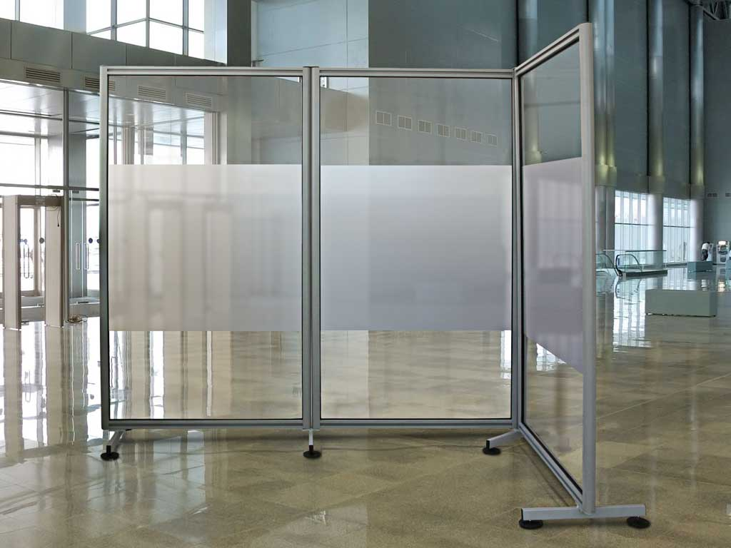 Linea ala pannelli espositivi vetrine espositve - Pannelli divisori design ...