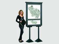 Arredi per musei - Pannelli espositivi, vetrine espositve, sistemi ...